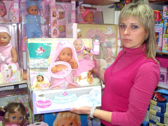 Лялька розкаже дитині сама що голодна