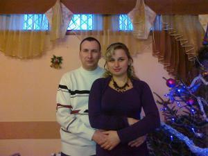 Вікторія Самчук та Петро Поліщук