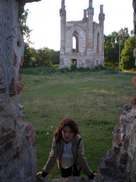 Новомалин. Руїни замку. 2008