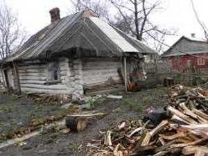 Так збереглася хата, яку будувала баба баби тиннівської старожительки Ганни Пінчук