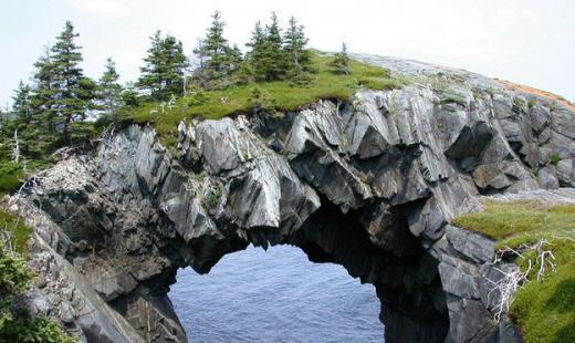 Арка Беррі Хед – Ньюфаундленд, Канада