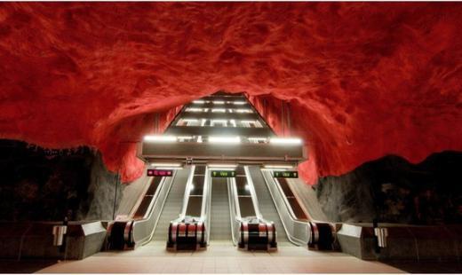 Метро – Стокгольм, Швеція