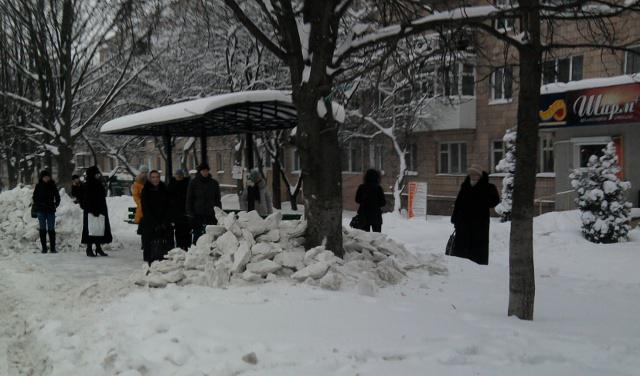 Нова зупинка на вулиці Корольова