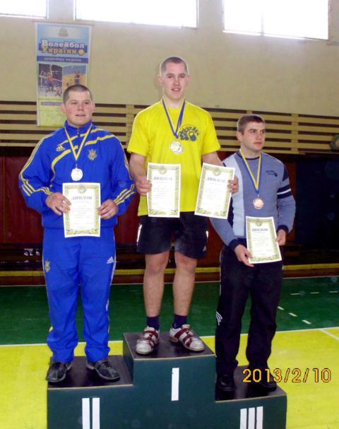 Золото - у Олексія Прохорчука