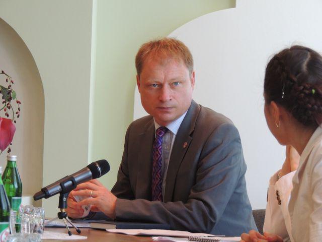 Заступник Глави Місії посольства Великої Британії в Україні Мартін Дей