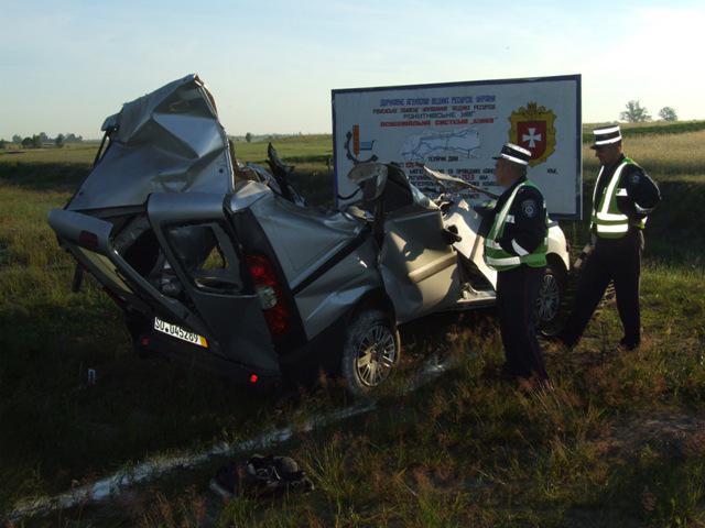 Кривава аварія сталася близько