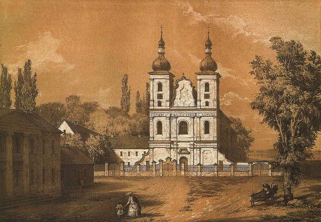 Наполеон Орда. Костел Івана Хрестителя