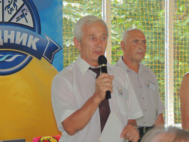 Президент федерації гирьового спорту України, рекордсмен Книги рекордів Гіннеса Юрій Щербина