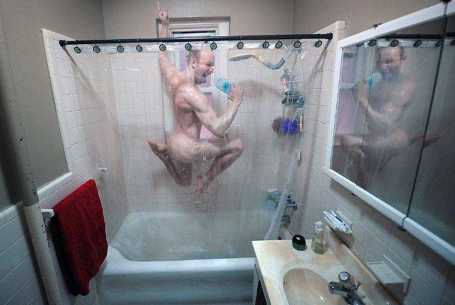 голые мамы в душе фото