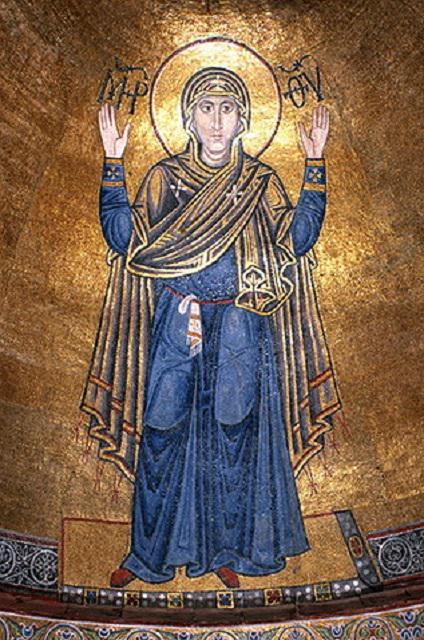 Свята Діва Марія (Оранта), мозаїка собору Софії Київської