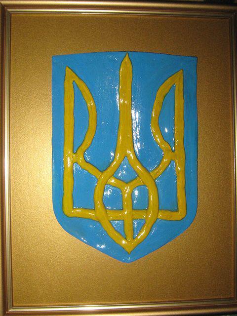 Как сделать своими руками герб россии 434