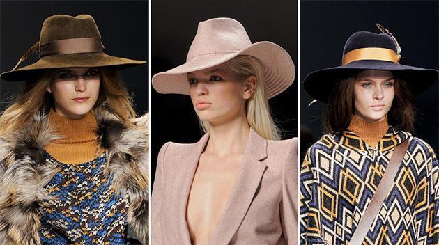 Тренд: шляпи