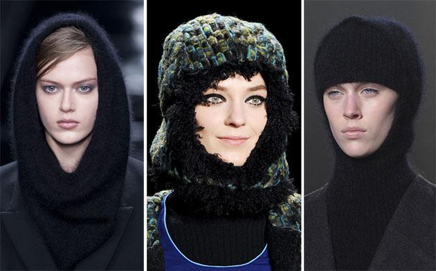 Тренд: шапка-шарф