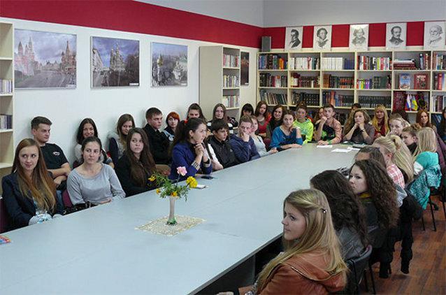 Ровенские студенты открыли своего