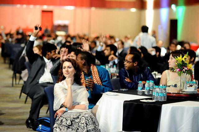 Ірина на міжнародному конгресі AIESEC у місті Хідерабат, Індія, 2011 рік