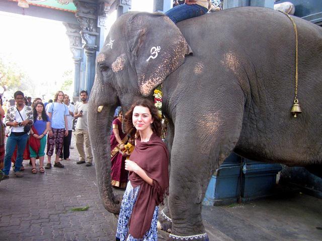 Під час поїздки у м. Пондічері штату Таміл Наду (колись - французька колонія Індії)