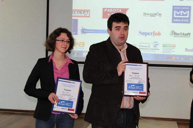 Ірина з другом, професійним HR та бізнес-консультантом Андрієм Ніколовим
