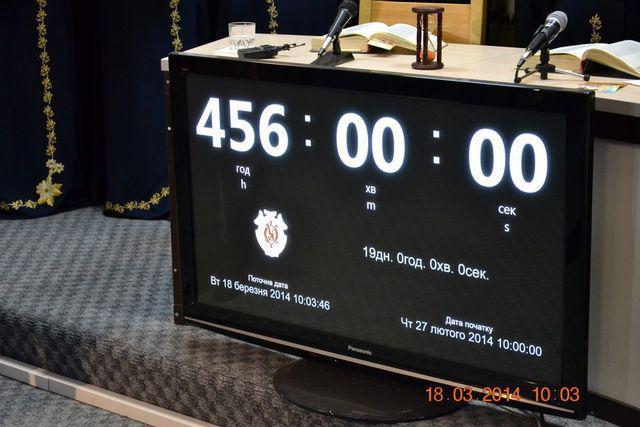 Хронометр зафіксував 456 годин безперервного читання віршів Тараса Шевченка