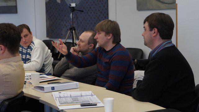 Руслан Грищук бере участь в управлінській дискусії