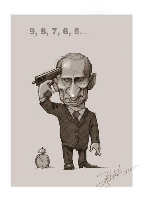 """""""Хотел Украину? Получишь Гаагу"""": на админгранице с Крымом появился новый бигборд с Путиным - Цензор.НЕТ 4788"""
