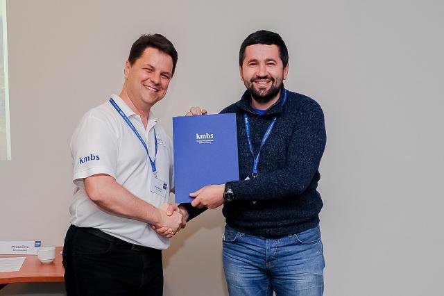 Сертифікат отримує нотаріус Олександр Чубай