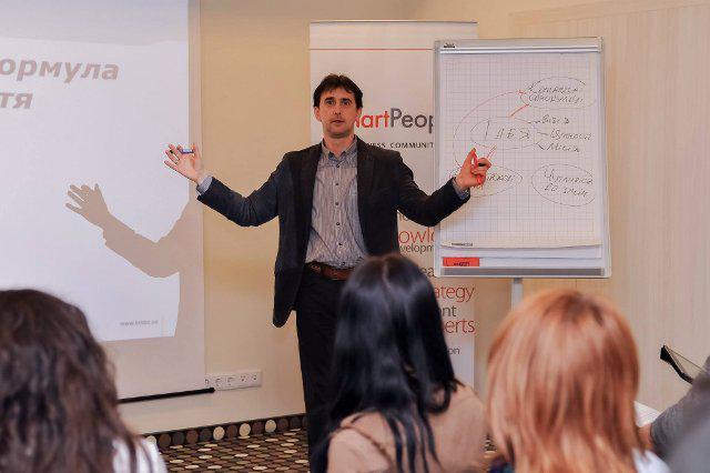 Нещодавно у Рівному Володимир Павелко провів майстер-клас для управлінців