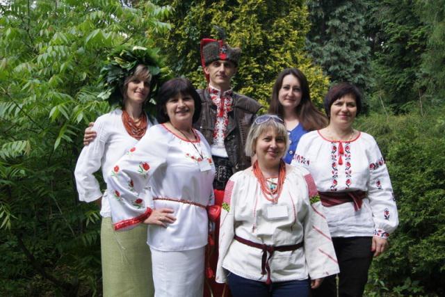 Рівненські майстри та працівники управління культури та туризму РОДА