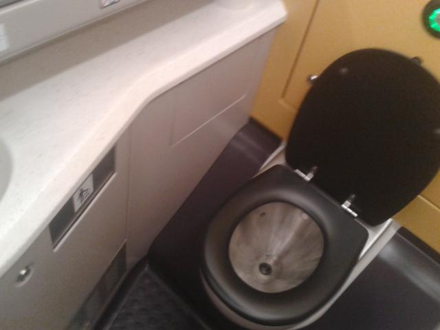 Туалет у потязі Варшава-Вроцлав